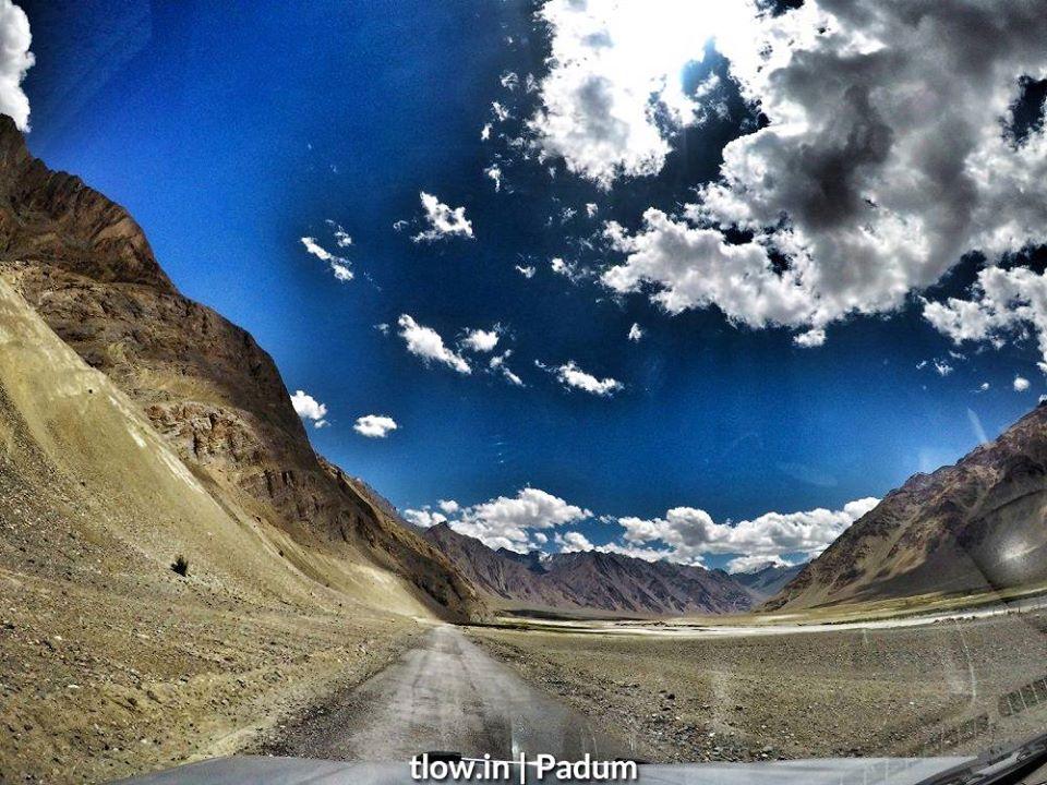 Padum Village roads