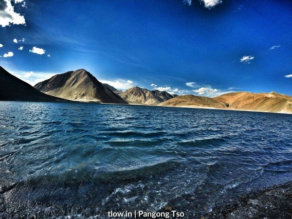 Pangong Blue Waters The Land Of Wanderlust
