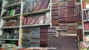 Book stall in Pushkar