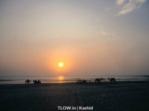 sun-setting-at-kashid-beach