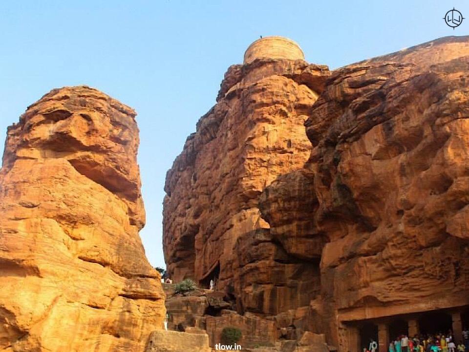 Steps leading to Badami