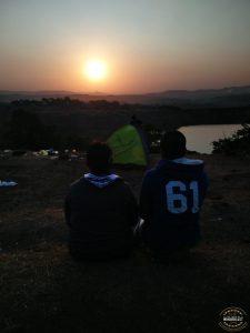 watching the sunrise at bhandardhara