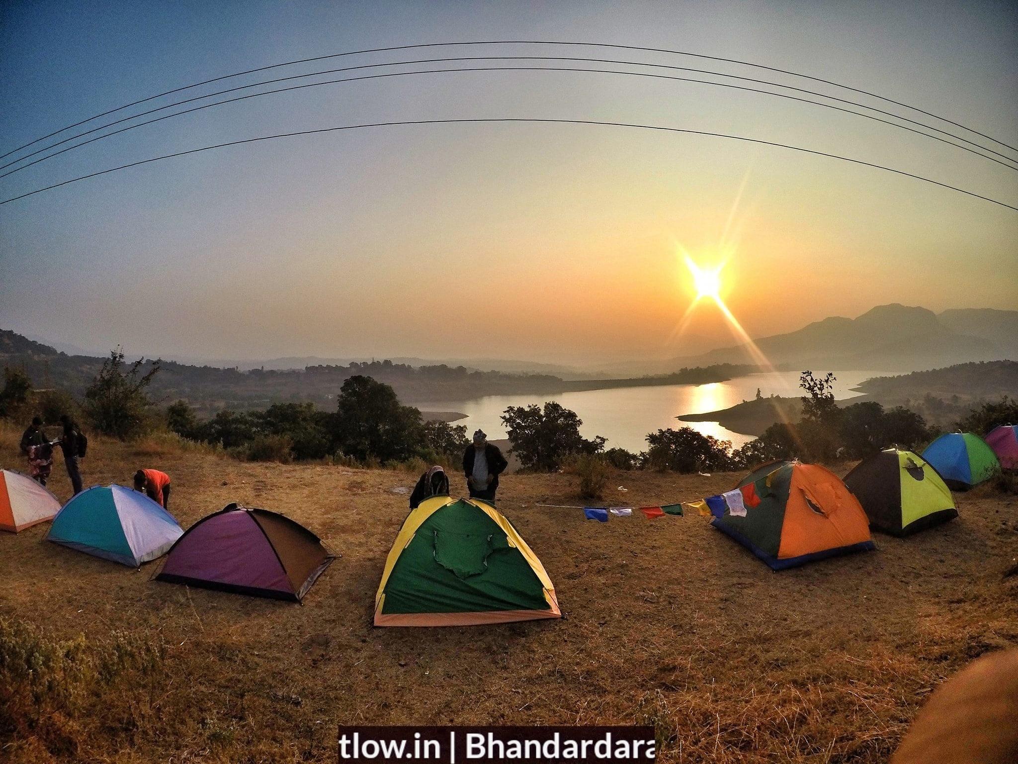 Sun rise at Bhandardara