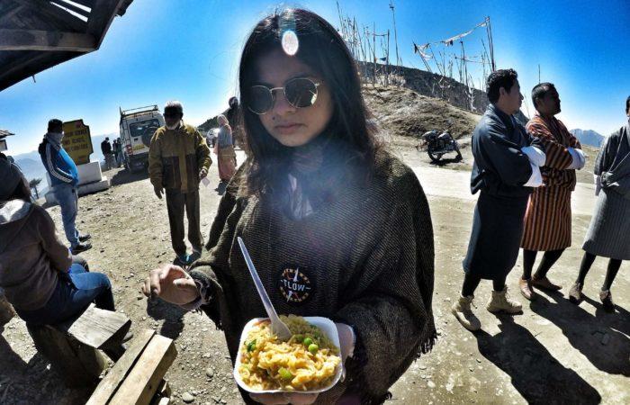 Maggie in Bhutan