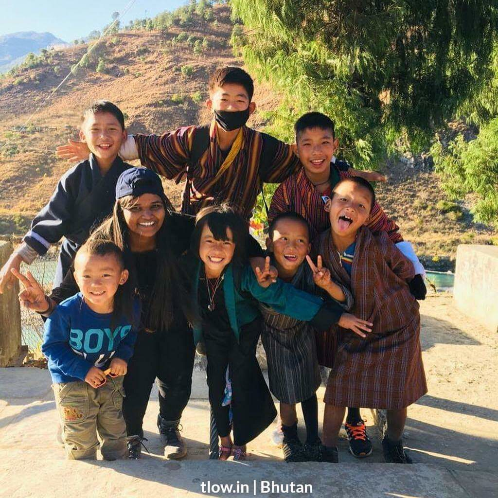 Happy faces from Bhutan