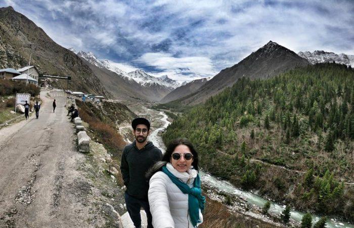 Selfie in chitkul