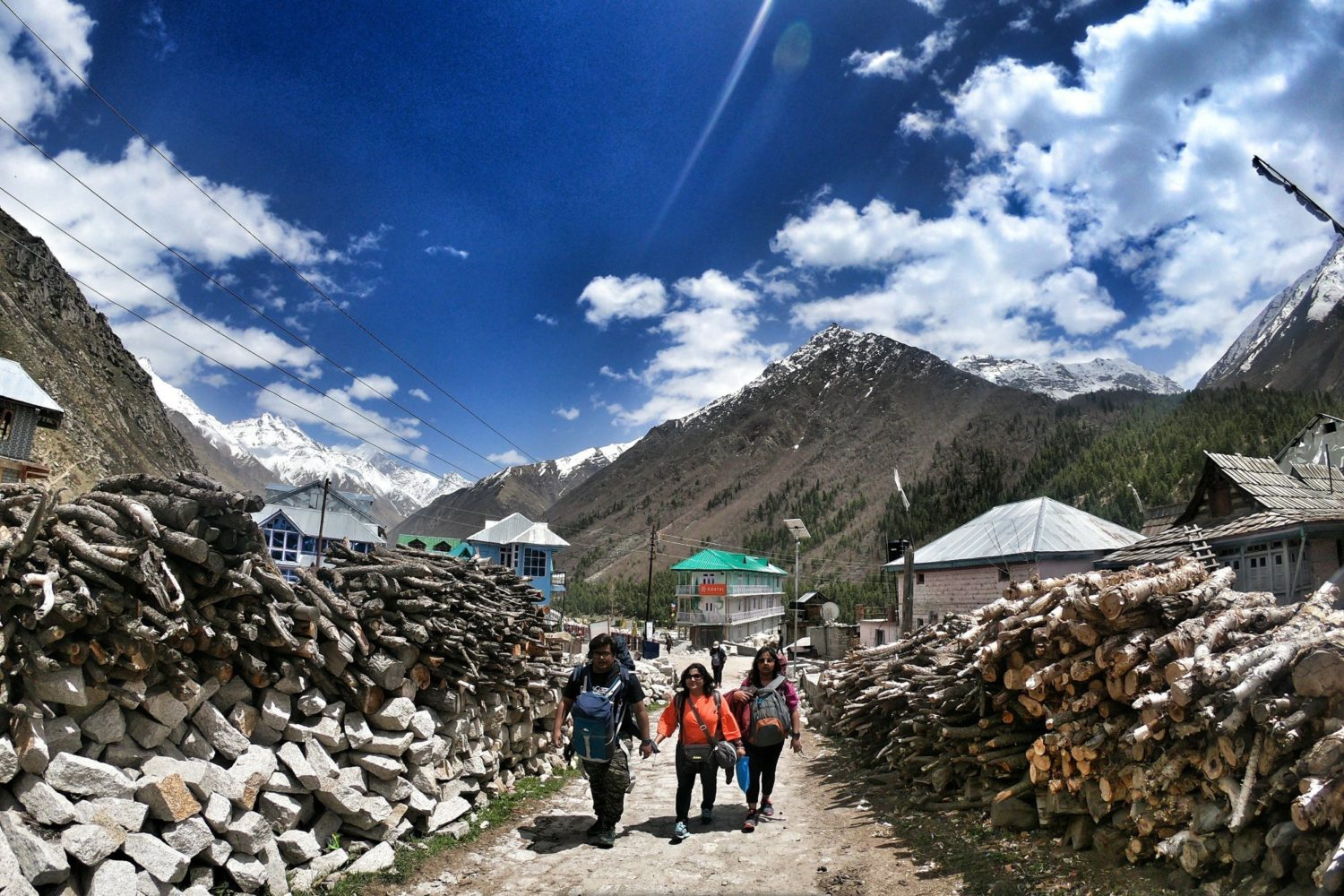 Lanes of chitkul