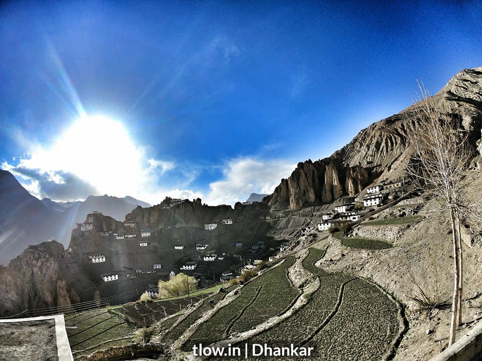 Dhankar village