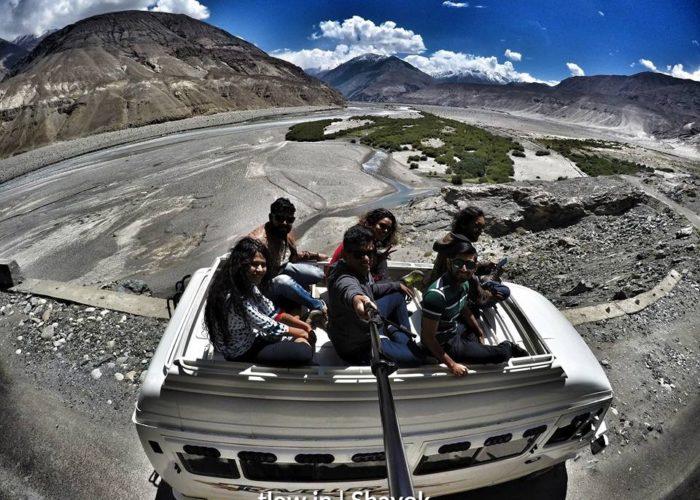 Shayok road Ladakh