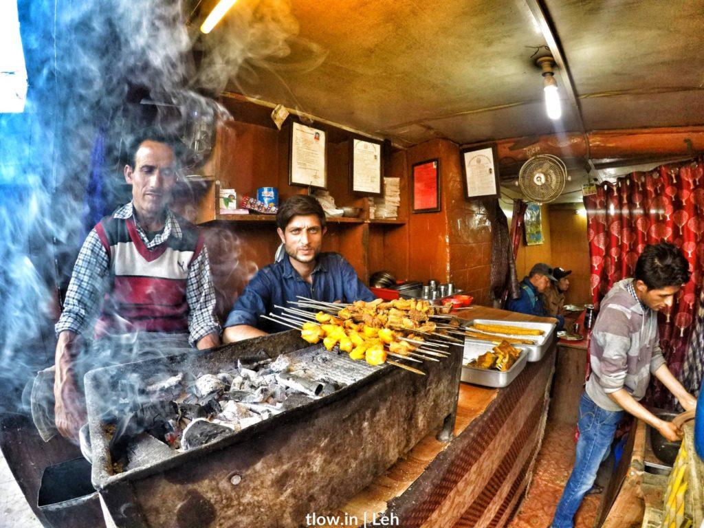 Kebabs in Leh