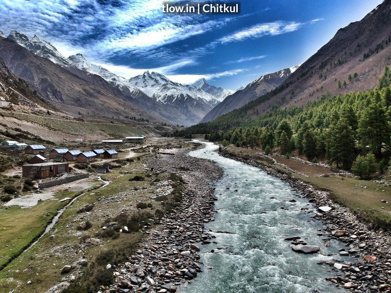 Chitkul in summer