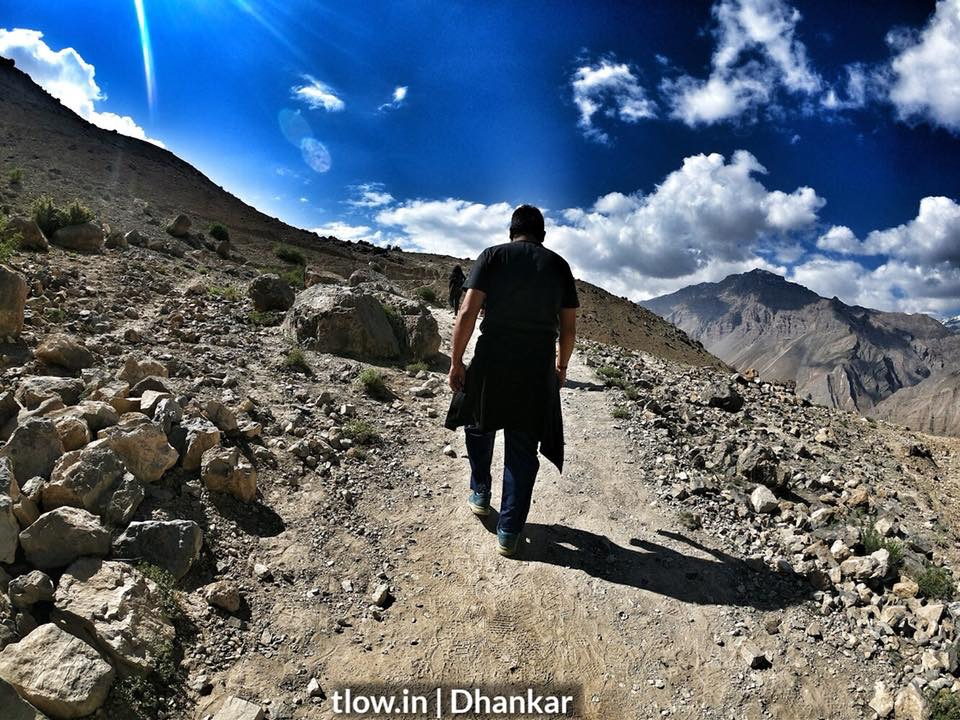 Hiking in Spiti Valley