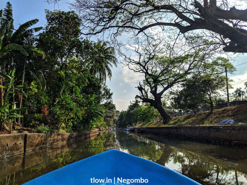 Negombo Boat ride