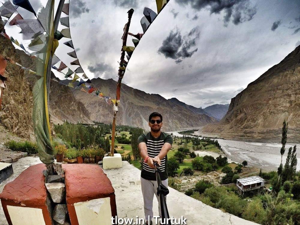 Selfie from Turtuk monastery