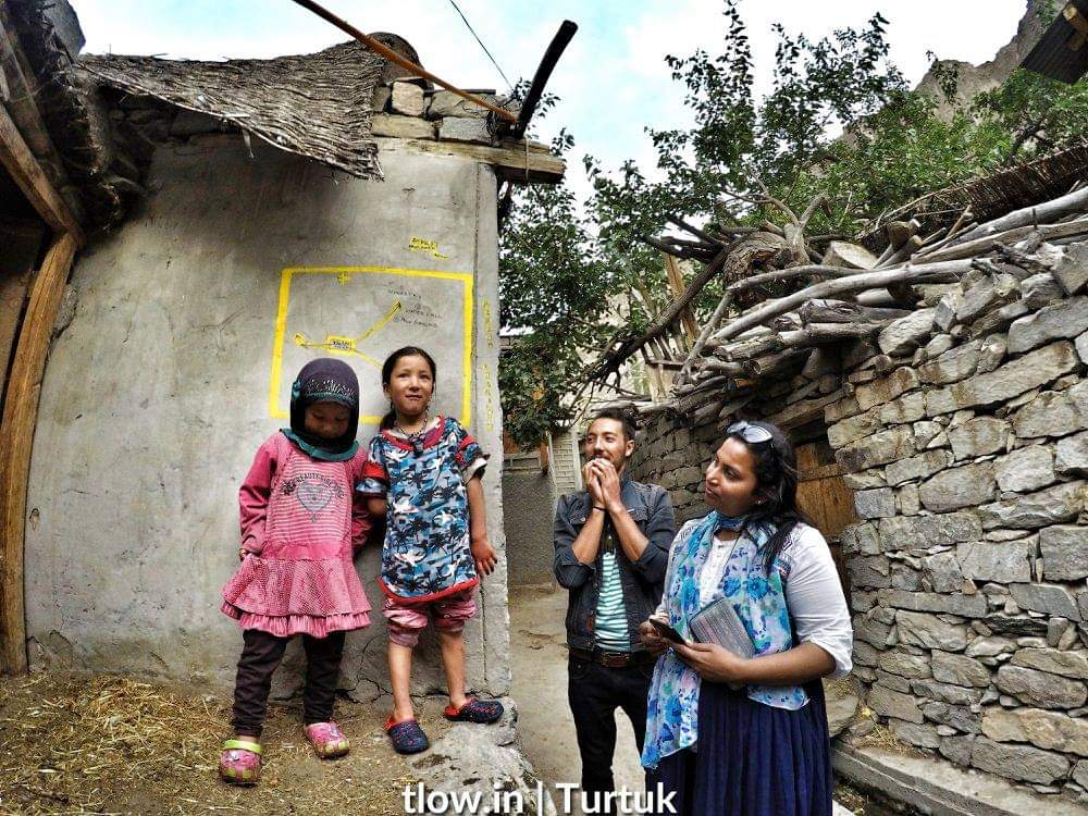 Turtuk village kids