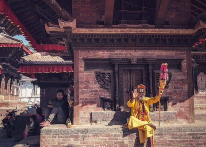 Sadu in Kathmandu
