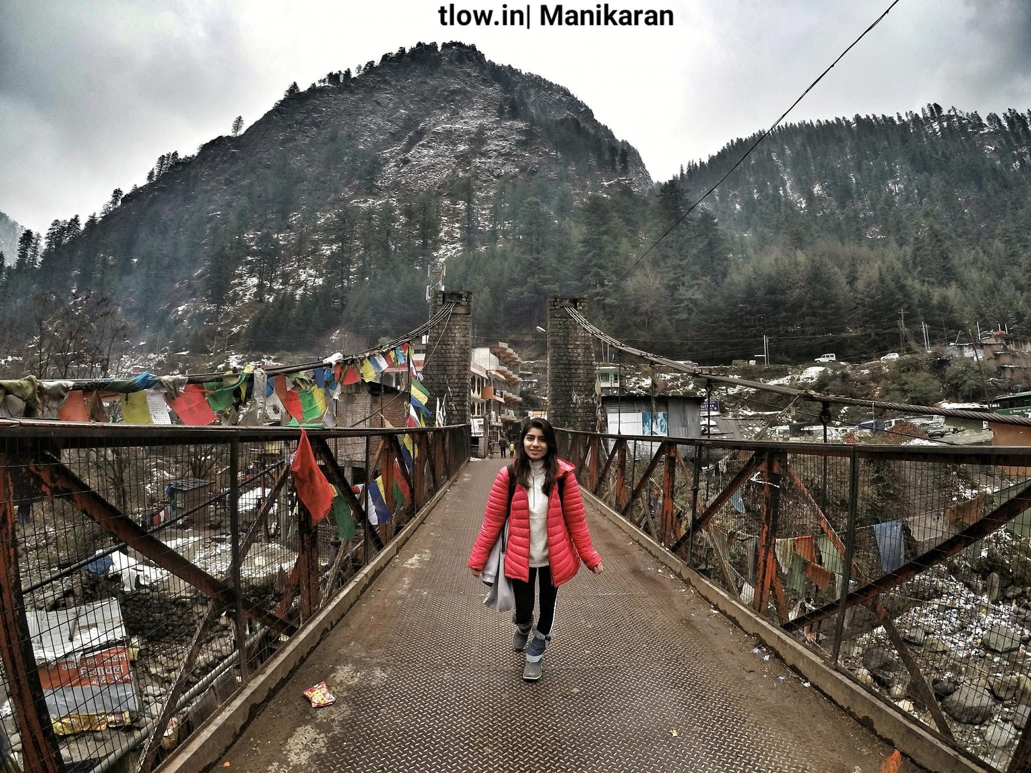 Manikaran crossing bridge