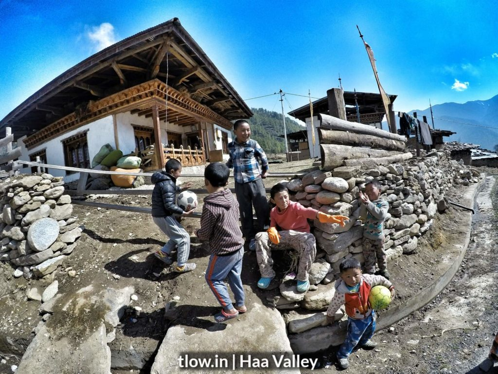 kids in haa Valley