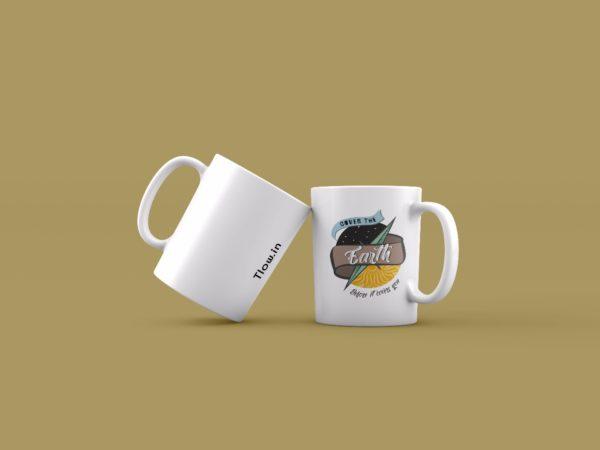Cover the earth mug