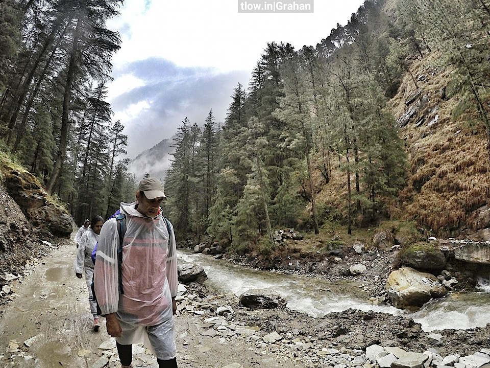 Hiking in the rains