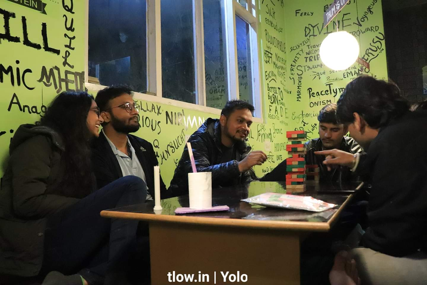After hours chilling at Yolo