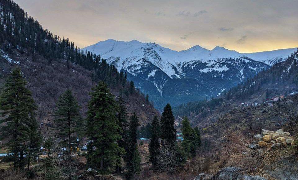 Tosh mountain view