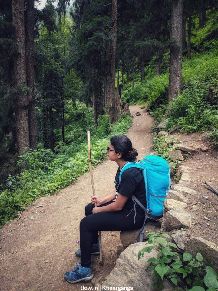 In the forest to Kheerganga