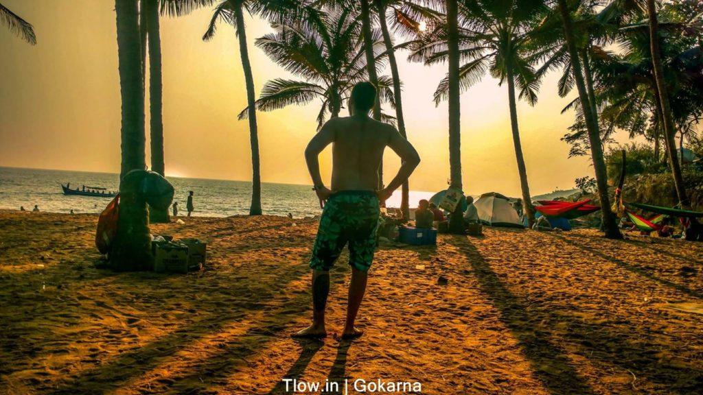 Hippie vibe at Paradise Beach