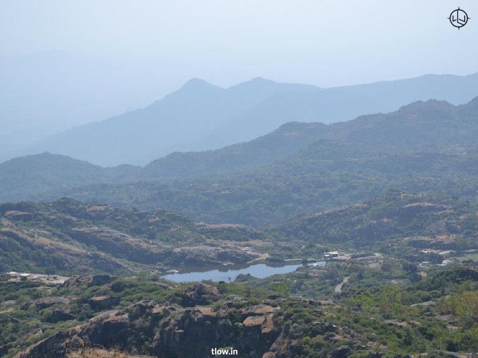 View of mount Abu