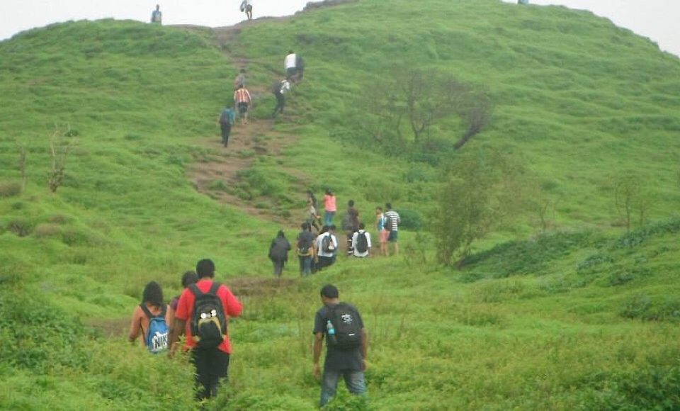 Hike to the top of lohagadh fort