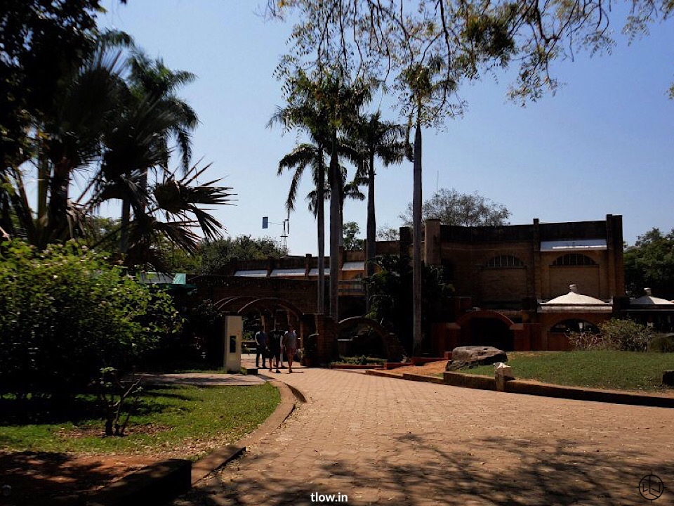 Entrance to Auroville