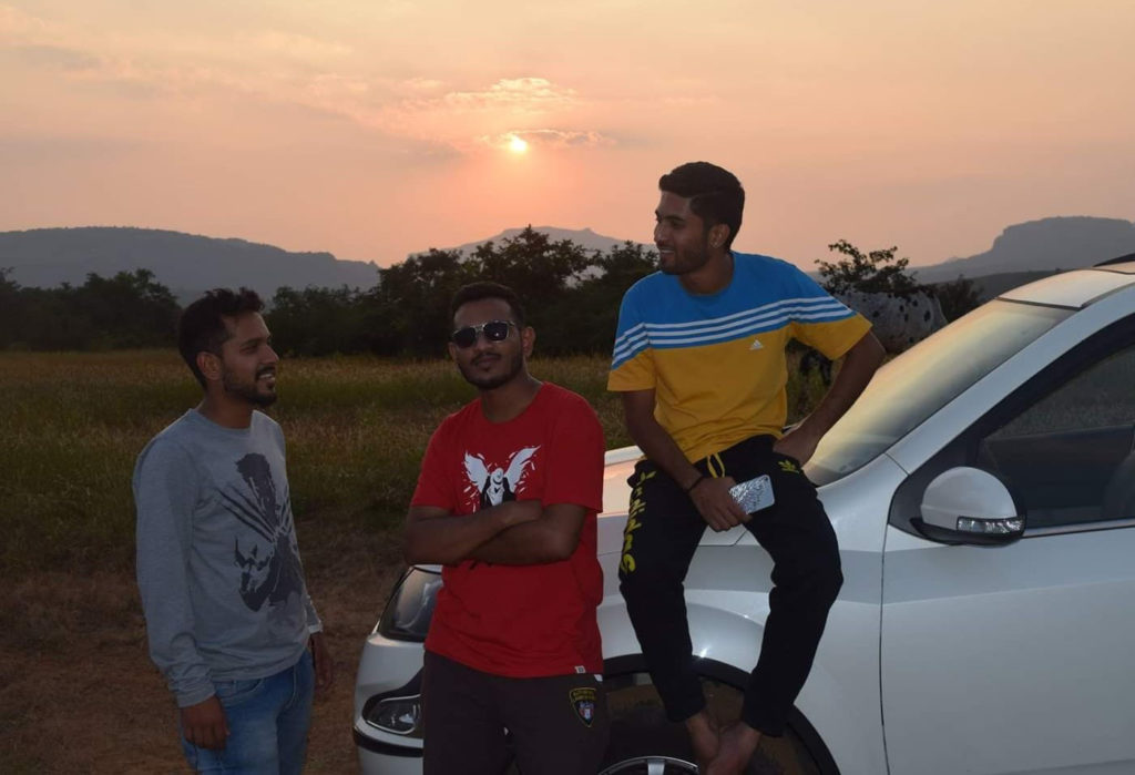 Zuber and Ibrahim at Bhandardara