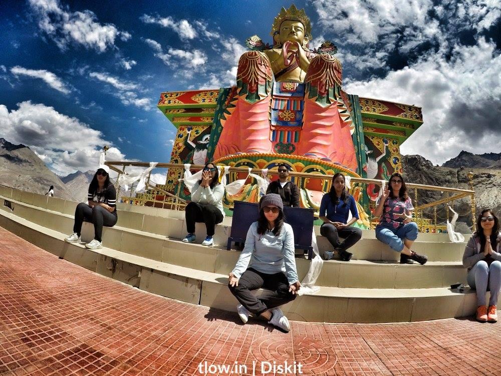 Diskit monastery Ladakh