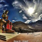 Diskit. Monastery in Ladakh