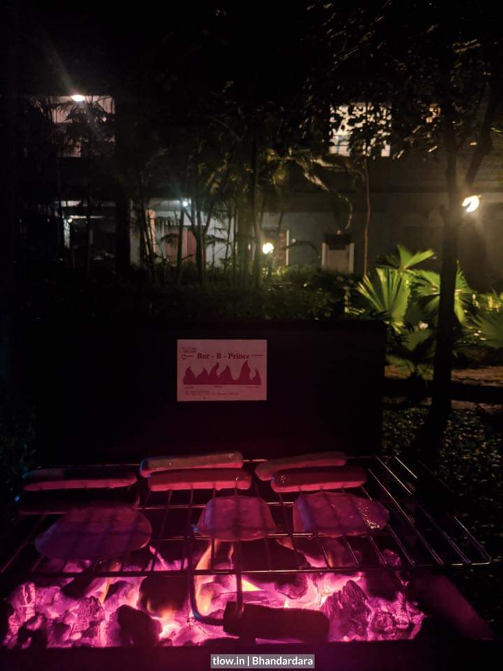 Bbq grill at tyrb
