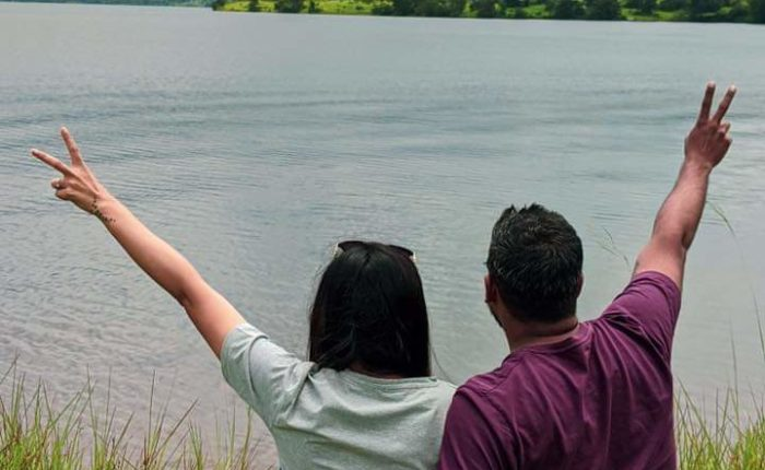 Peace out by Bhandardara lake