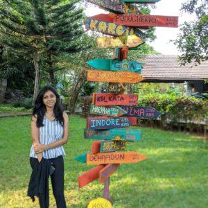 Bhandardara distance board