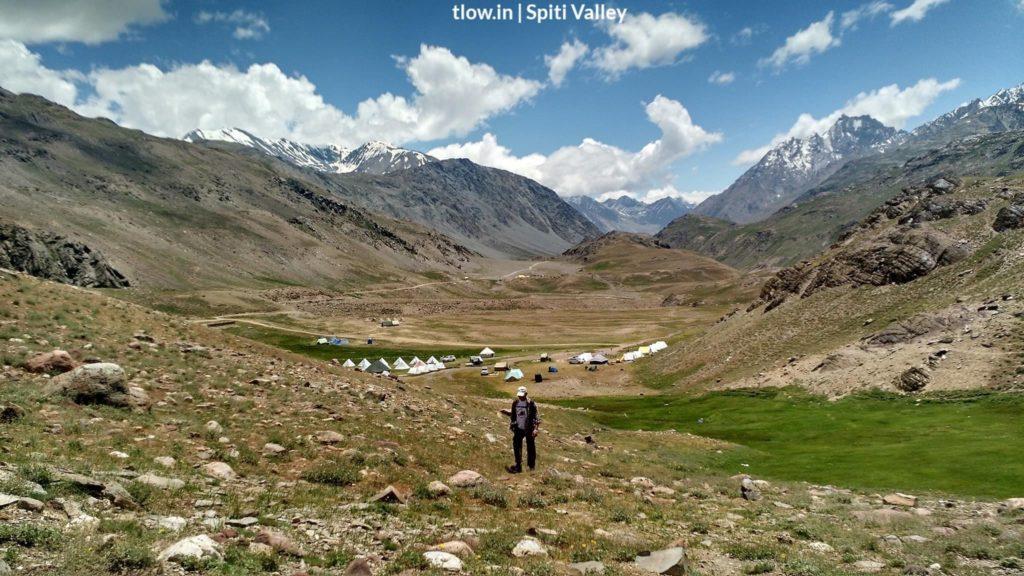 Chandartal camp Spiti valley