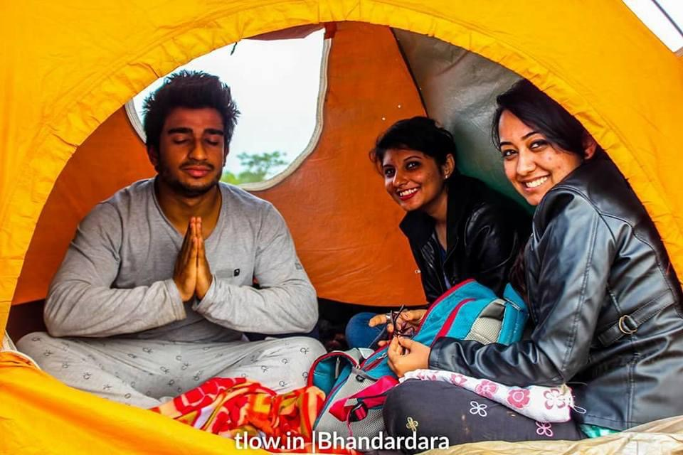 Bhandardara camping tent stay
