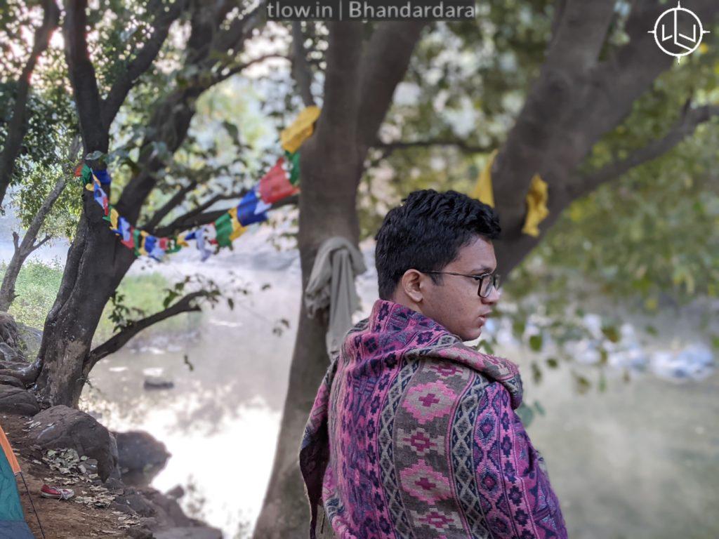 Bhandardara river side camping