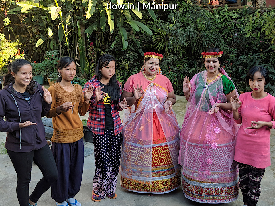 Traditional outfit in Loktak
