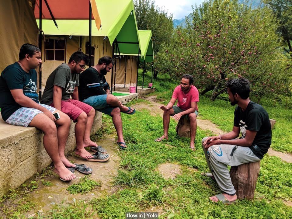 Yolo Kasol group talk