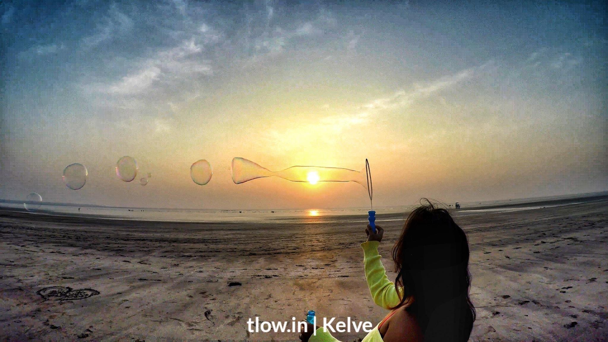 Kelve beach camping