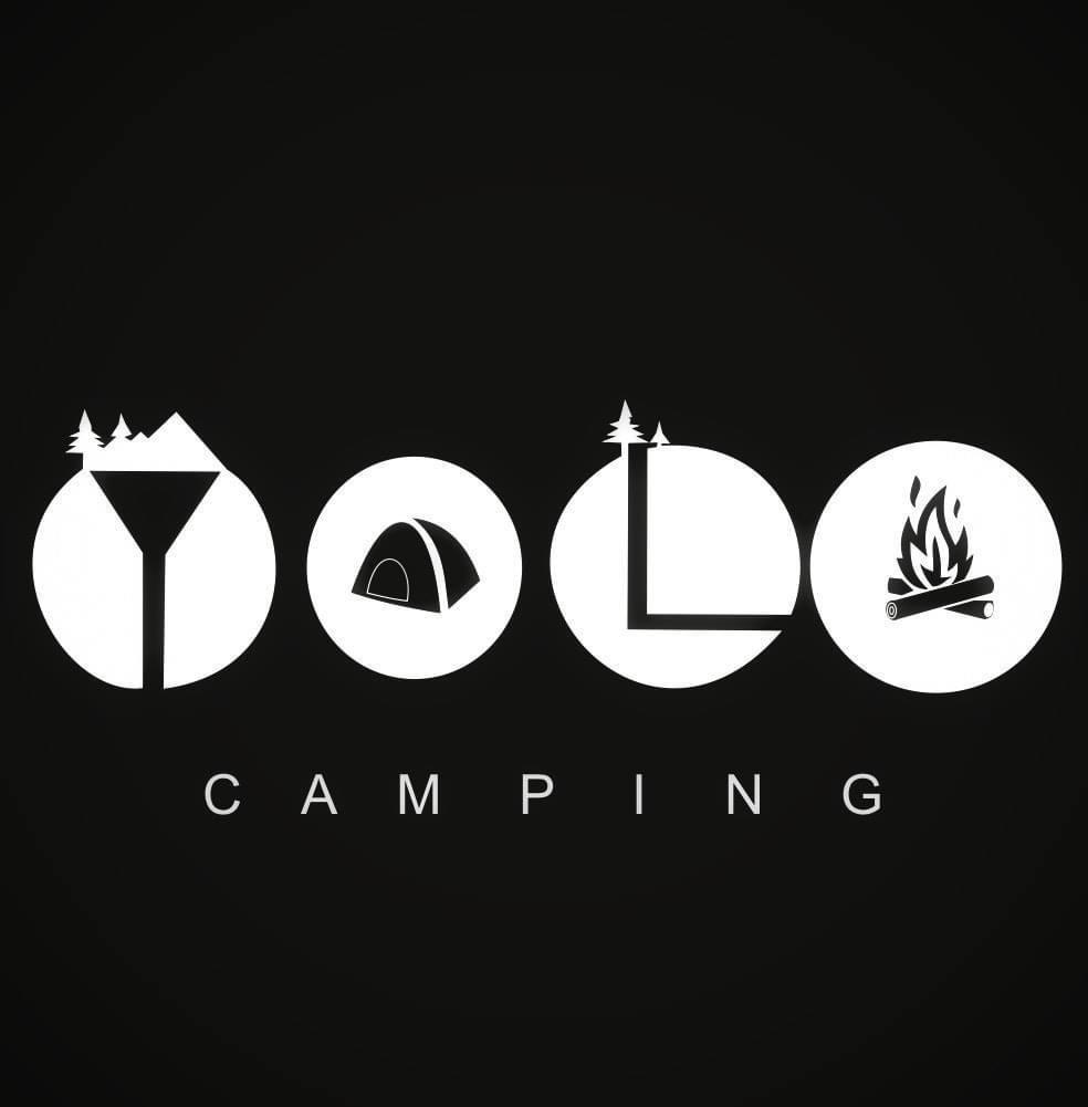 Yolo camping logo