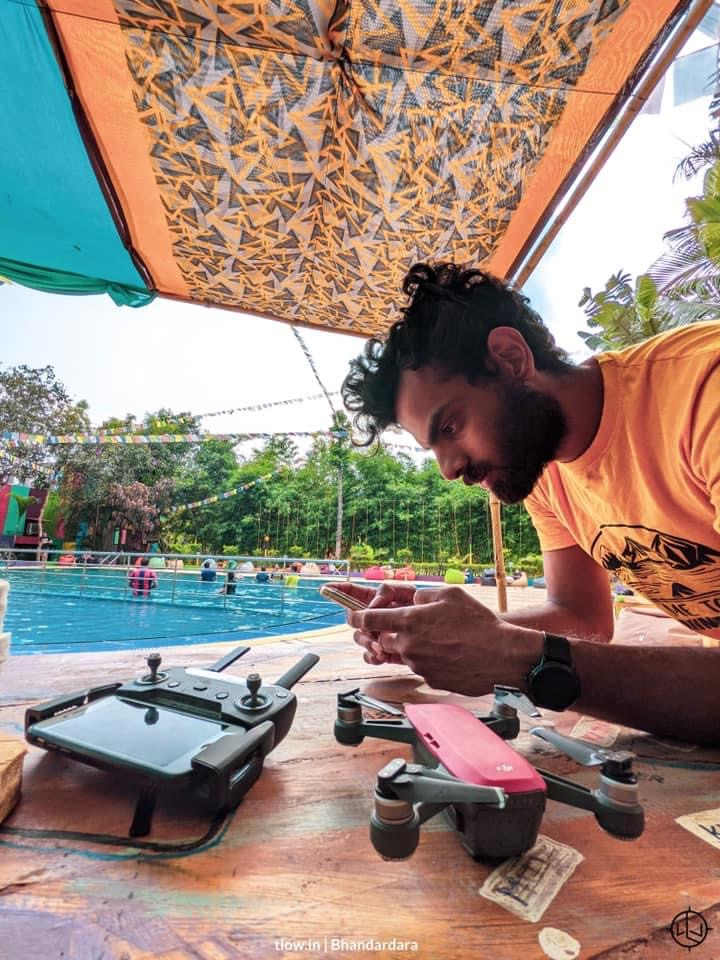 Drone learning at Yolo cafe